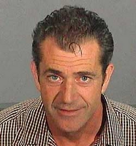 mel gibson arrested